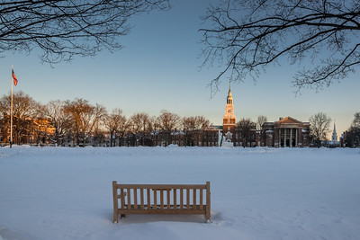 Dartmouth Green Turns to White