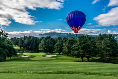 Balloon Over Highland #1