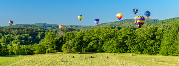 Banner - Balloons Over hay Field 2