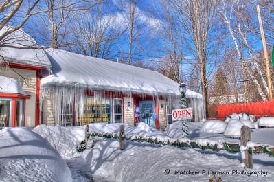 Winter in Manchester Center, VT