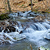 Icy Mountain Stream    #1054