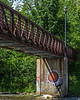 Footbridge over the Otter Creek
