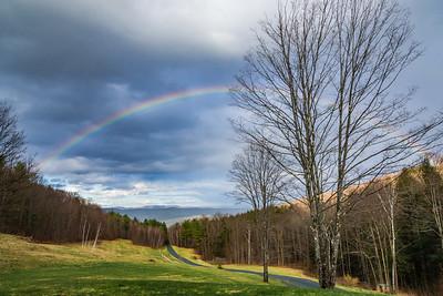 Full Rainbow on Seaver Hill