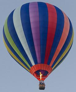 Balloon Drifts North from Quechee, VT
