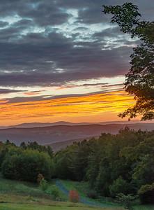 Sunrise on Old Farm Drive