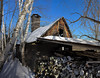 A few shots from this past winter.  Another panorama in the tight quarters.