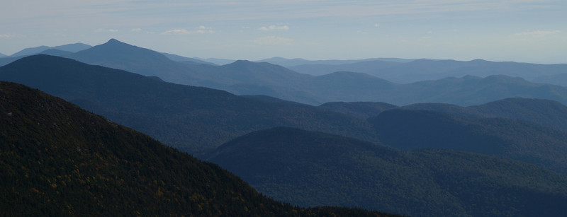 Looking south from Mount Mansfield