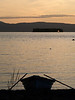 After sunset, Lake Champlain