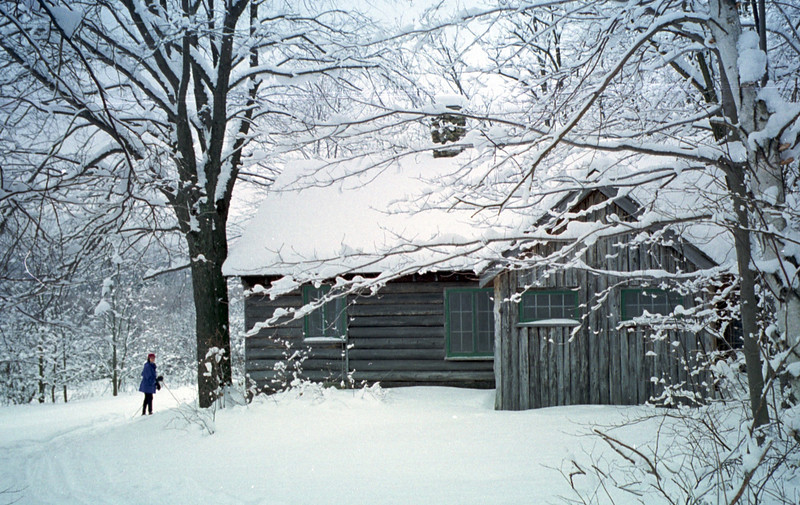 Robert Frost cabin, Ripton, Vermont