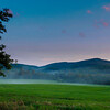 Landscape of Vermount fields