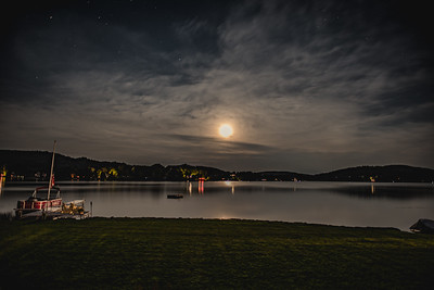 Full Moon on Joe's Pond