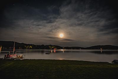 Full Moon on Joe's Pond