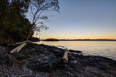 Lake Champlain, Shelburne, Vermont