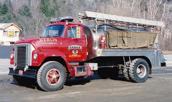 Retired Tanker 2.  International /