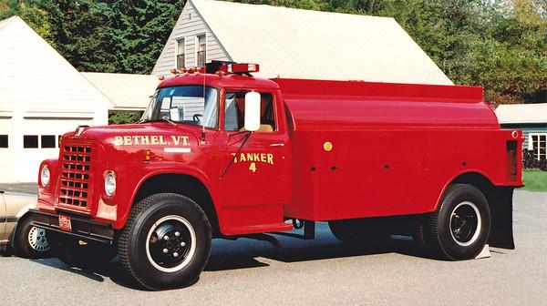 Retired Tanker 4   1972 International   1520 Gallons