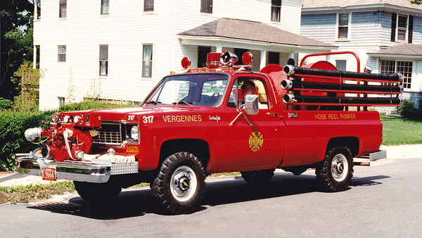 Retired.  Engine 317   Chevy / Custom   500 GPM