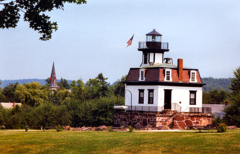 The light over the years fell into disrepair and was scheduled to be demolished. The Shelburne Museum upon learning this obtained ownership of the structure in 1952 and then had a team remove it, piece by piece from its foundation and re-erected the light on land at the museum grounds. The Coast Guard donated a Fresnel lens and fog bell for the light and it was opened to the public to tell the story of sea faring ships on Lake Champlain. It underwent a $130,000 renovation in 2009 and is today one of the great attractions on the Lake. You can visit www.shelburnemuseum.org for more information