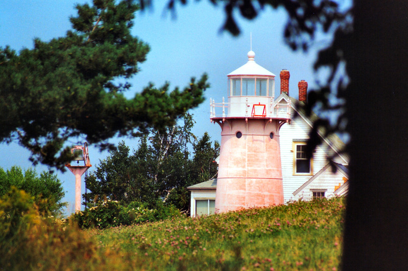 The lantern was fitted with a Sixth Order Fresnel lens 46 feet above sea level and was visible for 13 miles.  The lamp in the new lighthouse was tended by Keeper Wilbur Hill, who began serving at the original limestone light in 1871.  Keeper Hill served at Isle La Motte Light for 48 years retiring in 1919.