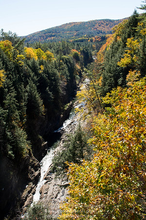 Quechee Gorge Fall Foliage 2016