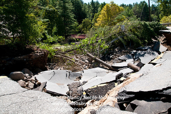 Vermont 2011 Flood Post Irene August 29, 2011 Copyright ©2011 Nancy Nutile-McMenemy www.photosbynanci.com