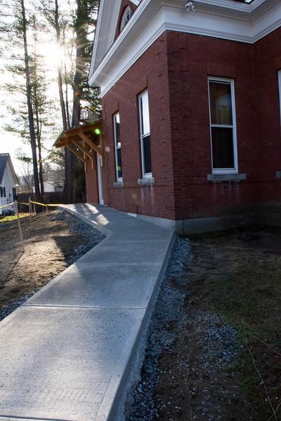 ADA Walkway Construction