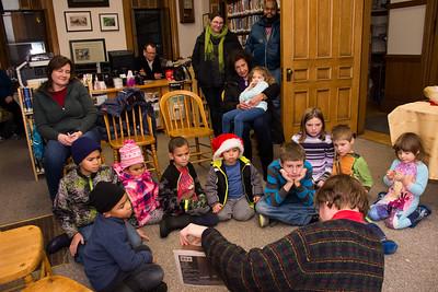 The Polar Express and a Visit from Santa