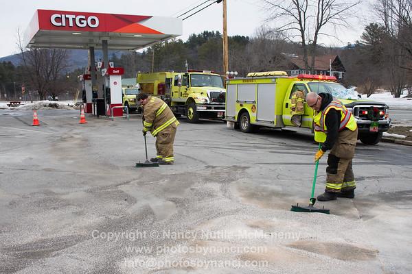 Gas Leak Jiffy Mart