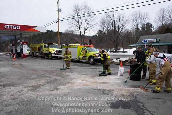 Jiffy mart Gas Leak