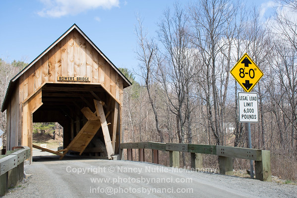 Bowers Bridge Damage April 2016