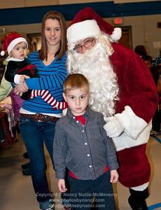Hartland Visit with Santa