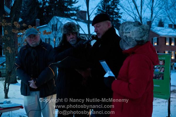 Newtown Tragedy Candlelight Vigil