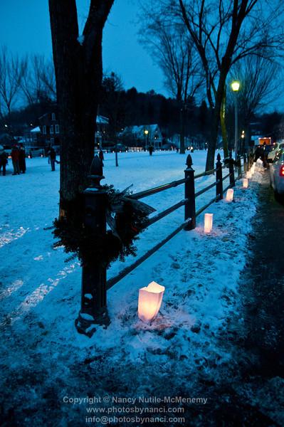 Lighting of the Luminaries and Around Woodstock