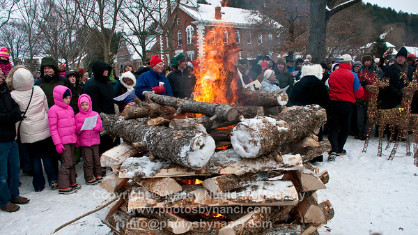 Yule Log, Memory Tree Lighting and Carol Singing