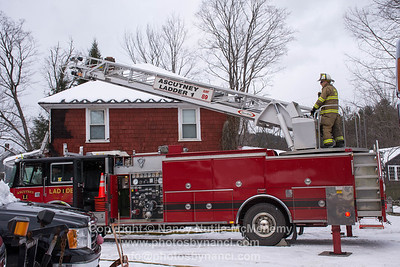 Structure Fire Upper Falls Rd