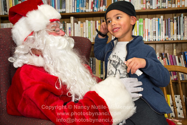 The Polar Express and a Visit from Santa