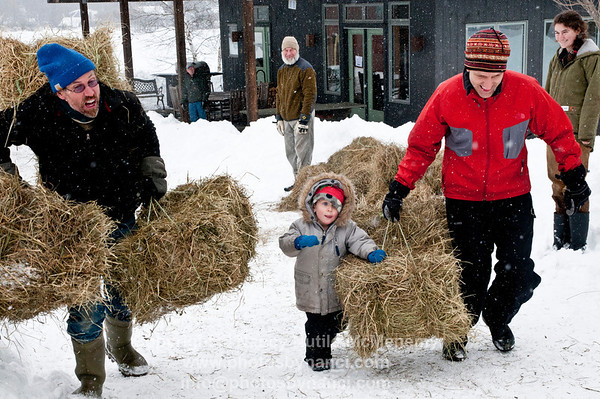 Winter Farm Olympics