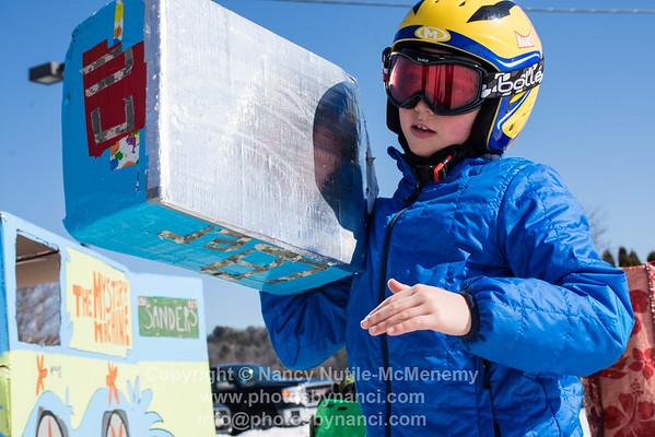 Cardboard Box Derby