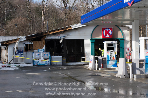 Irving Gas Station Fire