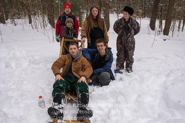 Boy Scouts Klondike Derby