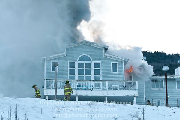 Ascutney Base Lodge Fire