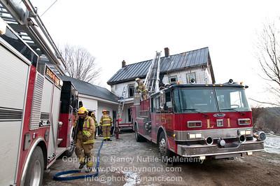Green Dragon Farm Fire