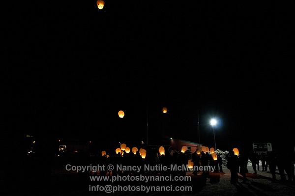 SOS Paper Lantern Launch