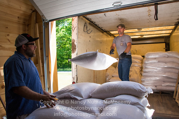 SILO Distillery Grain Delivery