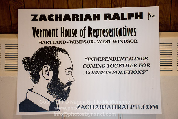 Zachariah Ralph for Vermont House Pasta and Comedy