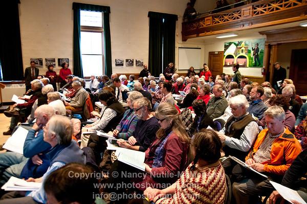 Hartland Town Meeting 2014