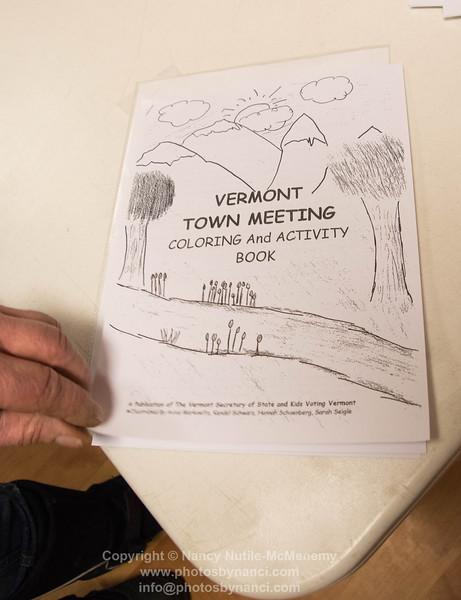 Weathersfield Town Meeting 2016