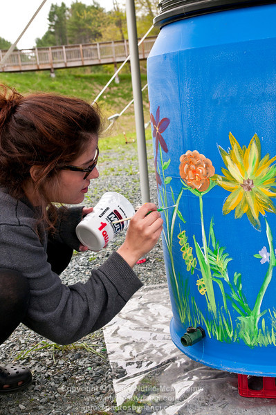 2nd Annual Art on A Rain Barrel Festival