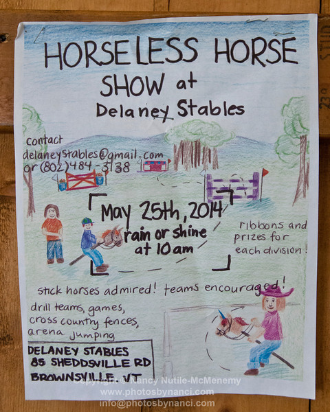 1st Annual Horseless Horse Show
