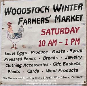 Woodstock Winter Farmers MKT
