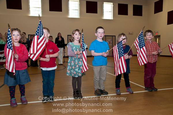 Albert Bridge School Honor Veterans